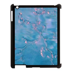 Abstract Waters With Hints Of Pink Apple Ipad 3/4 Case (black) by timelessartoncanvas