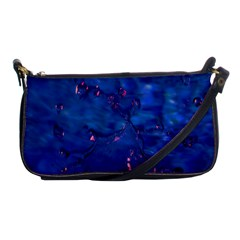 Dark Blue Waters With Hints Of Pink Shoulder Clutch Bags by timelessartoncanvas