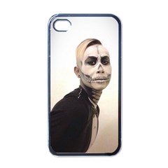 Halloween Skull And Tux  Apple Iphone 4 Case (black) by KentChua
