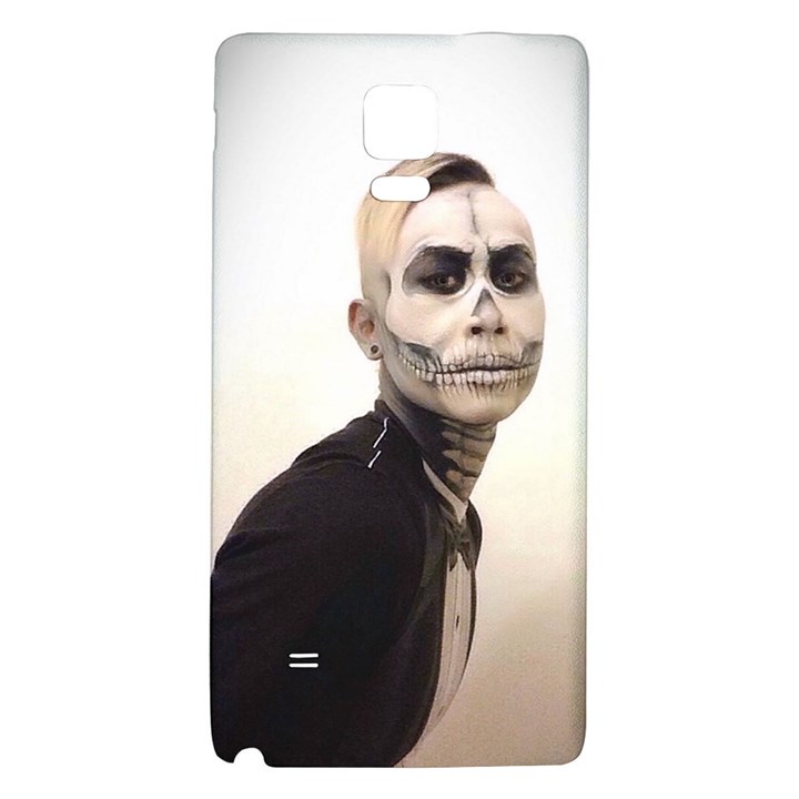 Halloween Skull And Tux  Galaxy Note 4 Back Case