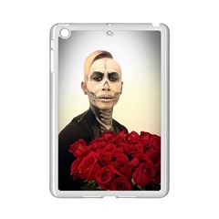 Halloween Skull Tux And Roses  Ipad Mini 2 Enamel Coated Cases by KentChua