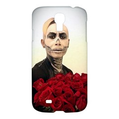Halloween Skull Tux And Roses  Samsung Galaxy S4 I9500/i9505 Hardshell Case
