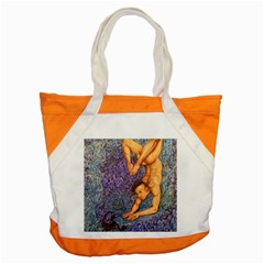Zodiac Signs Scorpio Drawing Accent Tote Bag  by KentChua