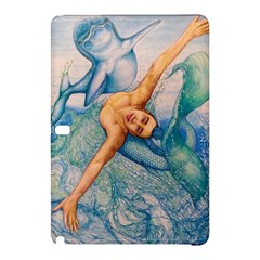 Zodiac Signs Pisces Drawing Samsung Galaxy Tab Pro 10 1 Hardshell Case by KentChua
