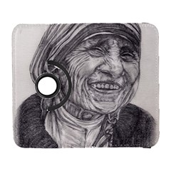 Mother Theresa  Pencil Drawing Samsung Galaxy S  Iii Flip 360 Case