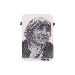 Mother Theresa  Pencil Drawing Apple Ipad Mini Protective Soft Cases