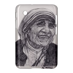 Mother Theresa  Pencil Drawing Samsung Galaxy Tab 2 (7 ) P3100 Hardshell Case  by KentChua