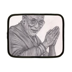 Dalai Lama Tenzin Gaytso Pencil Drawing Netbook Case (small)