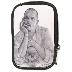 Alexander Mcqueen Pencil Drawing Compact Camera Cases by KentChua