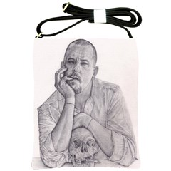 Alexander Mcqueen Pencil Drawing Shoulder Sling Bags