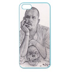 Alexander Mcqueen Pencil Drawing Apple Seamless Iphone 5 Case (color) by KentChua