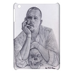 Alexander Mcqueen Pencil Drawing Apple Ipad Mini Hardshell Case by KentChua