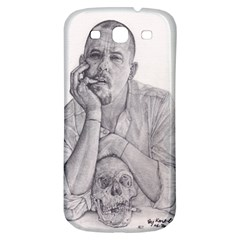 Alexander Mcqueen Pencil Drawing Samsung Galaxy S3 S Iii Classic Hardshell Back Case by KentChua