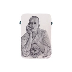 Alexander Mcqueen Pencil Drawing Apple Ipad Mini Protective Soft Cases by KentChua