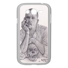 Alexander Mcqueen Pencil Drawing Samsung Galaxy Grand Duos I9082 Case (white)