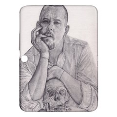 Alexander Mcqueen Pencil Drawing Samsung Galaxy Tab 3 (10 1 ) P5200 Hardshell Case  by KentChua