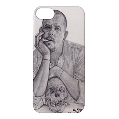 Alexander Mcqueen Pencil Drawing Apple Iphone 5s Hardshell Case by KentChua