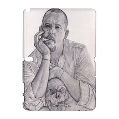 Alexander Mcqueen Pencil Drawing Samsung Galaxy Note 10 1 (p600) Hardshell Case by KentChua