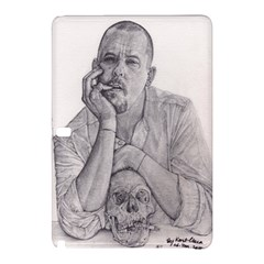 Alexander Mcqueen Pencil Drawing Samsung Galaxy Tab Pro 12 2 Hardshell Case by KentChua