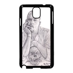 Alexander Mcqueen Pencil Drawing Samsung Galaxy Note 3 Neo Hardshell Case (black) by KentChua