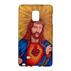 Sacred Heart Of Jesus Christ Drawing Galaxy Note Edge by KentChua
