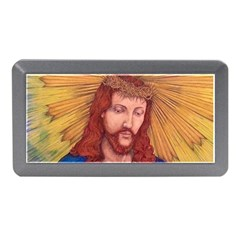 Sacred Heart Of Jesus Christ Drawing Memory Card Reader (mini) by KentChua