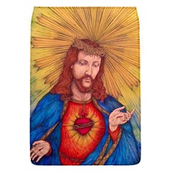 Sacred Heart Of Jesus Christ Drawing Flap Covers (s)  by KentChua