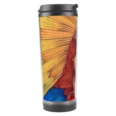 Sacred Heart Of Jesus Christ Drawing Travel Tumblers by KentChua