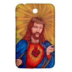 Sacred Heart Of Jesus Christ Drawing Samsung Galaxy Tab 3 (7 ) P3200 Hardshell Case  by KentChua