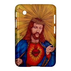 Sacred Heart Of Jesus Christ Drawing Samsung Galaxy Tab 2 (7 ) P3100 Hardshell Case  by KentChua