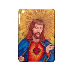 Sacred Heart Of Jesus Christ Drawing Ipad Mini 2 Hardshell Cases