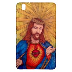Sacred Heart Of Jesus Christ Drawing Samsung Galaxy Tab Pro 8 4 Hardshell Case by KentChua