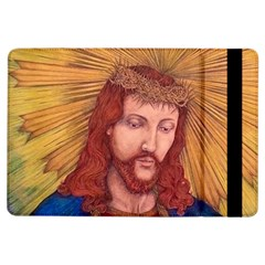 Sacred Heart Of Jesus Christ Drawing Ipad Air Flip by KentChua