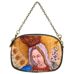 Immaculate Heart Of Virgin Mary Drawing Chain Purses (one Side)  by KentChua