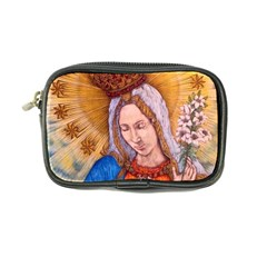 Immaculate Heart Of Virgin Mary Drawing Coin Purse by KentChua
