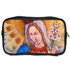 Immaculate Heart Of Virgin Mary Drawing Toiletries Bags 2 Side by KentChua