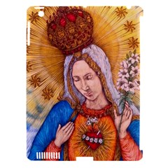 Immaculate Heart Of Virgin Mary Drawing Apple Ipad 3/4 Hardshell Case (compatible With Smart Cover) by KentChua