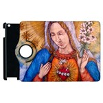 Immaculate Heart Of Virgin Mary Drawing Apple iPad 2 Flip 360 Case Front