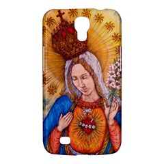 Immaculate Heart Of Virgin Mary Drawing Samsung Galaxy Mega 6 3  I9200 Hardshell Case by KentChua