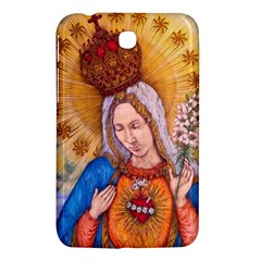 Immaculate Heart Of Virgin Mary Drawing Samsung Galaxy Tab 3 (7 ) P3200 Hardshell Case  by KentChua
