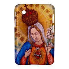 Immaculate Heart Of Virgin Mary Drawing Samsung Galaxy Tab 2 (7 ) P3100 Hardshell Case  by KentChua