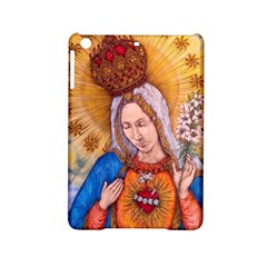 Immaculate Heart Of Virgin Mary Drawing Ipad Mini 2 Hardshell Cases by KentChua