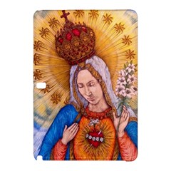 Immaculate Heart Of Virgin Mary Drawing Samsung Galaxy Tab Pro 10 1 Hardshell Case by KentChua
