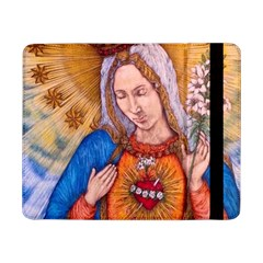 Immaculate Heart Of Virgin Mary Drawing Samsung Galaxy Tab Pro 8 4  Flip Case by KentChua