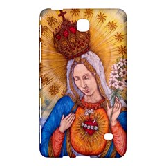 Immaculate Heart Of Virgin Mary Drawing Samsung Galaxy Tab 4 (7 ) Hardshell Case  by KentChua