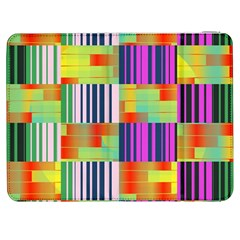 Vertical And Horizontal Stripes 			samsung Galaxy Tab 7  P1000 Flip Case by LalyLauraFLM