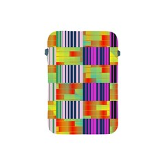 Vertical And Horizontal Stripes 			apple Ipad Mini Protective Soft Case by LalyLauraFLM