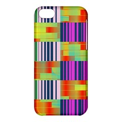 Vertical And Horizontal Stripes 			apple Iphone 5c Hardshell Case by LalyLauraFLM