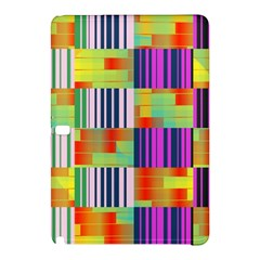 Vertical And Horizontal Stripes 			samsung Galaxy Tab Pro 10 1 Hardshell Case by LalyLauraFLM