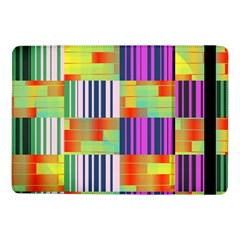 Vertical And Horizontal Stripes 			samsung Galaxy Tab Pro 10 1  Flip Case by LalyLauraFLM